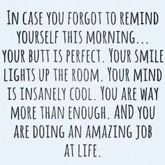 """""""Don't forget to cut yourself some slack every once in a while!! 💙happy Thursday!! #youareenough #love #believeinyourself #loveyourself #youarebeautiful #motivation #quotes #believe #selflove #beautiful #yougotthis #positivevibes #meditation #inspiration #selfcare #smile #fitness #staystrong #alwayskeepfighting #success #life #goals #peace #inspire #iamenough #happiness #goeasyonyourself #takeiteasy #takeamoment Powered by @TagOmatic"""" by (paularaworth). happiness #inspiration #fitness…"""