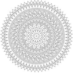 "This is ""Seasons Change"", a coloring page for you to print, color, and share. :) #mandala #free https://mondaymandala.com/m/seasons-change?utm_campaign=sendible-pinterest&utm_medium=social&utm_source=pinterest&utm_content=seasons-change"