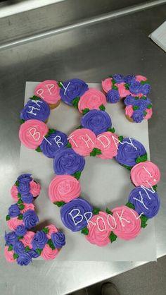 Cupcake Cake Pull Apart Cookies Icing