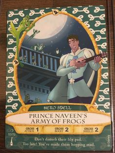 Walt Disney World Sorcerers of the Magic Kingdom Card #53 Prince Naveen's Army of Frogs