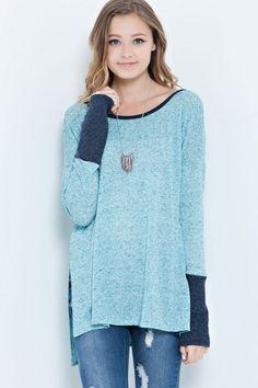 Color Block Sweater Tunic! {Jane Deals}