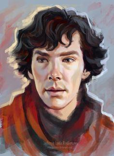 Sherlock by ladunya on DeviantArt Sherlock Comic, Sherlock Holmes Benedict, Sherlock Fandom, Sherlock John, Benedict Cumberbatch, Imitation Game, Experiment, Dr Watson, Johnlock