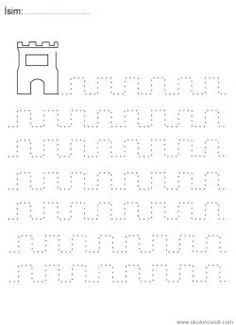 Line worksheets. Grade R Worksheets, Kindergarten Addition Worksheets, Letter Tracing Worksheets, Kindergarten Math Worksheets, Tracing Letters, Writing Worksheets, Pre K Activities, Preschool Writing, Letter A Crafts