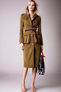 Must love Burberry Prorsum trenchcoats (resort 2015)