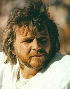 Ken Stabler Oakland raiders. I will always remember him the best when he was a Raider and had the beard and long hair.