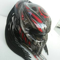 HOT NEW PREDATOR HELMET MOTORCYCLE (DOT CERTIFIED) CHECK OUT !!! #NHKGLADIATOR #PREDATOR