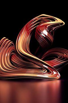 Abstracto de la curva 3D iPhone fondos de pantalla | 640x960 iPhone 4 (4S) Fondos de descarga | ES.iWALL365.com
