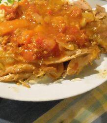 Summer rabbit casserole recipe for the slow cooker/crock pot