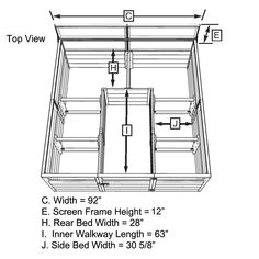 How To Build A U Shaped Raised Garden Bed Outdoor Ideas 400 x 300