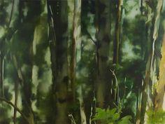 http://aniagubernat.com/landscapes/ Ania Gubernat #painting #oil #canvas #landscape #nature