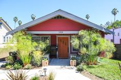 An alternative would be to pull forward the whole roofline... Jeff & Joseph's Silver Lake Bungalow