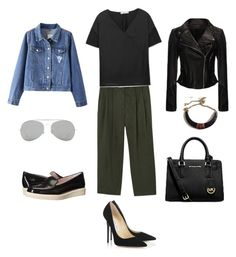 """""""Untitled #29"""" by chicmaven-lx on Polyvore featuring MANGO, Jimmy Choo, Patricia Green, Acne Studios, Michael Kors, women's clothing, women's fashion, women, female and woman"""
