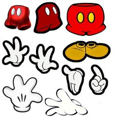 Mickey Mouse Cut Outs
