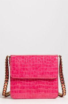Stella McCartney - Faux Croc Crossbody Bag.