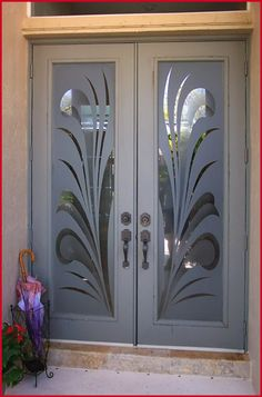 Etched Glass Door  #tampaactiveadultliving