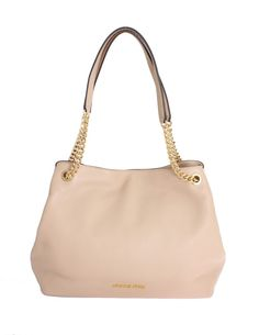 9d5cac796df5 Michael kors Beige JET SET Leather Tote Handbag • Brands Vice