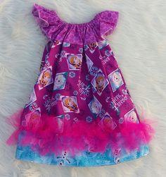 Frozen Basic Flutter Dress SIZE 6/7, frozen dresses, elsa dresses, baby girl dresses,girls dresses,flutter dresses,handmade dress,baby dress by HopskotchKids2 on Etsy