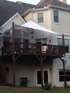 What's a shade sail & how will it enhance your outdoor space/