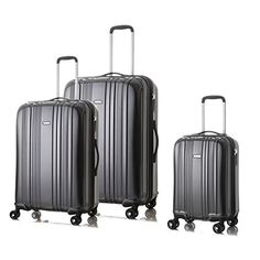 Hard Shell Luggage Set On 360 Spinner WheelsBlack 2024and 28 *** Check out this great product.Note:It is affiliate link to Amazon.