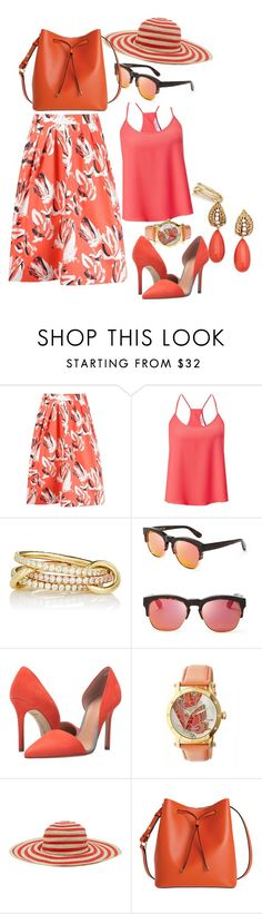 """""""Coral  Truth"""" by blujay1126 ❤ liked on Polyvore featuring Andrea Marques, Miss Selfridge, SPINELLI KILCOLLIN, Wildfox, L.A.M.B., Bertha, Paul Smith, Lodis and Van Cleef & Arpels"""