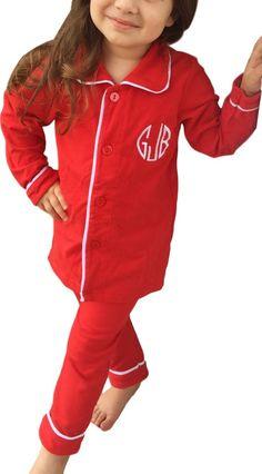 00dce1f65d Monogram Pajamas. Monogrammed Pajamas