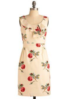 Rose Conservatory Dress