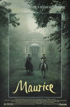 Maurice starring James Wilby, Rupert Graves and Hugh Grant. A Merchant Ivory Film. Novel by E. Hugh Grant, Series Lgbt, James Wilby, Simon Callow, Cinema Posters, Movie Posters, Rupert Graves, Streaming Hd, Maurice