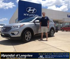 I have enjoyed my experience here at Hyundai of Longview. The customer service I received from Tim O Farrell was great. He was patient and did his best to satisfy my wife and I on our car deal. In my opinion he is a great asset to your company. Come by and ask for Tim O Farrell if you are in the market for a new vehicle.  Chris Buckrell Monday, July 07, 2014