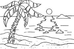 Myrtle Beach Coloring Pages Simple Summer - Colorine.net | #26201