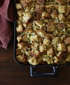 Sometimes, simpler is better. This basic stuffing will soak up all the delicious sauces and juices of the other foods on your Thanksgiving table. You can jazz