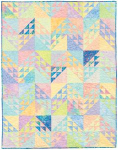 FREE PATTERN » Tonga Sugar-Chevrons #quilting, by Osie Lebowitz