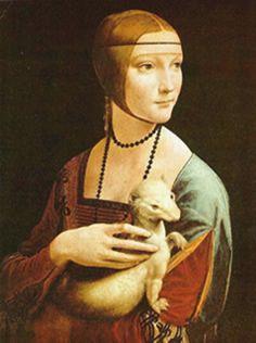 Leonardo da Vinci Dama del armiño