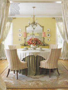 Theresa Flannery's Minneapolis Home. Country French Fall/Winter 2009