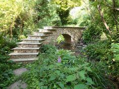Drystone Bridge with Arch