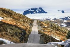 A Road In Norway