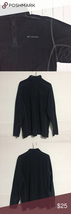 Columbia Black Lightweight Men's Fleece Columbia Black Lightweight Men's Fleece. Three colors available in this closet, bundle and save! Open to offers. No trades. Columbia Sweaters