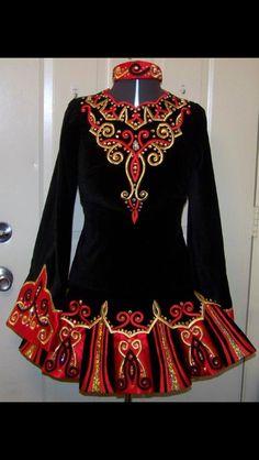 Irish Dance Solo Dress by Kirations