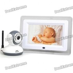 "2.4GHz Wireless 7"" LCD Digital Baby Monitor with Night Vision Surveillance Camera  — 7368.45р.  Keeping an eye on your baby is of the utmost importance. Babies always seem to get into unimaginable trouble. This is a truly great baby monitoring system that doubles as a video interphone. It features awesome night vision good for 5 meters and can wirelessly transmit the signal 250 meters. It features a ┬╝ CMOS image sensor to produce clear and colorful video. The motion detection registers all…"