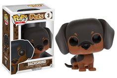 Funko releasing Dachshund pop vinyl from Pets