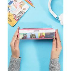 Ladybird Pencil Case ($11) ❤ liked on Polyvore featuring home, home decor, office accessories, multi, plastic pencil case and plastic pencil pouch