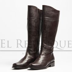 Botas caña alta de cuero marrón Wordpress, Riding Boots, Wild West, Cowboys, Shoes, Fashion, Loafers, Zapatos, Blouses