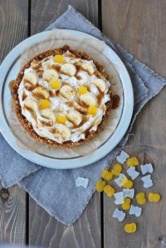 Vegaaninen banoffee Banoffee, Margarita, Pie, Baking, Desserts, Food, Image, Torte, Bread Making