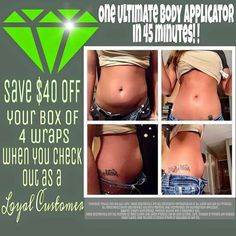http://sarahamullins.itworks.com Are you wanting to slim down? Get amazing results like this woman by taking my 90 day wrap challenge! Contact me for more info