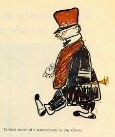 Fellini the clowns