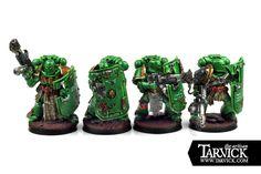 Warhammer 40k Salamanders Command Squad