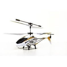 Built In Gyroscope For Extreme Stability And Precision - Syma S107G 3 Channel RC Radio Remote Control Helicopter with Gyro - White by Syma. $72.45