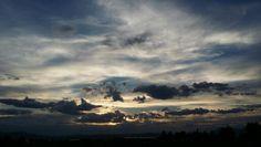#CloudySunset #Clouds #Sunset