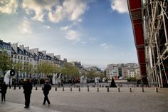 Each time we visit Paris, we're drawn to the areas around the Pompidou (Place Georges Pompidou and Place Igor Stravinsky). Follow the link to find out why. http://mikestravelguide.com/things-to-do-in-paris-pompidou-center/