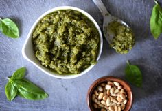 Our Besto Pesto adds fresh flavor to any weeknight meal! Basil/Mint/Rosemary