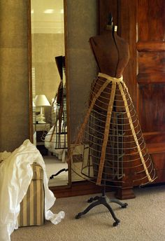 Antique dressmaker's dummy